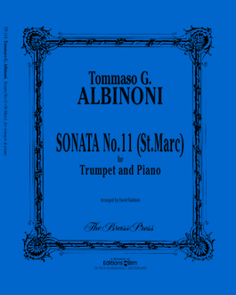 Albinoni / Baldwin - Sonata No. 11 - St. Marc (Brass Press)