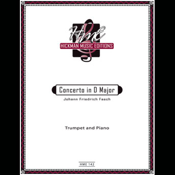 Fasch - Concerto in D Major (Hickman Music Editions)